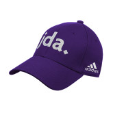 Adidas Purple Structured Adjustable Hat-jda