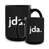 Full Color Black Mug 15oz-jda