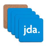 Hardboard Coaster w/Cork Backing 4/set-jda