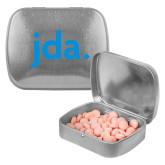 Silver Rectangular Peppermint Tin-jda
