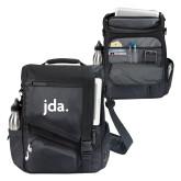 Momentum Black Computer Messenger Bag-jda