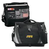 Slope Black/Grey Compu Messenger Bag-JWU