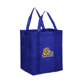 Non Woven Royal Grocery Tote-JWU Wildcats