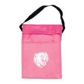Koozie Pink Lunch Sack-Wildcat Head