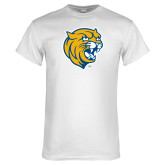 White T Shirt-Wildcat Head