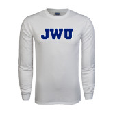 White Long Sleeve T Shirt-JWU