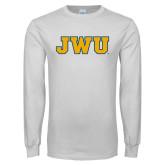 White Long Sleeve T Shirt-JWU
