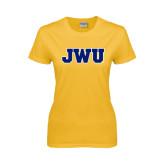 Ladies Gold T Shirt-JWU