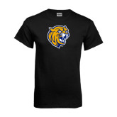 Black T Shirt-Wildcat Head