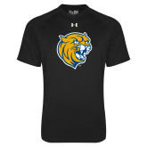 Under Armour Black Tech Tee-Wildcat Head