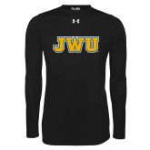 Under Armour Black Long Sleeve Tech Tee-JWU