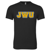 Next Level Vintage Black Tri Blend Crew-JWU