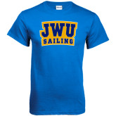 Royal T Shirt-JWU Sailing