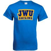 Royal T Shirt-JWU Sailing