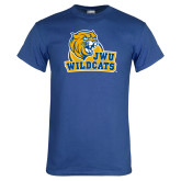 Royal T Shirt-JWU Wildcats
