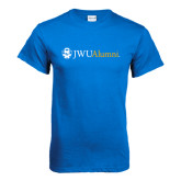 Royal T Shirt-JWU Alumni