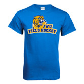 Royal T Shirt-Field Hockey