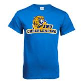 Royal T Shirt-Cheerleading