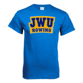 Royal T Shirt-JWU Rowing