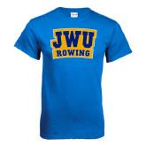 Royal T Shirt-JWU Rowing