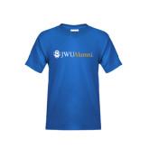Youth Royal T Shirt-JWU Alumni