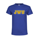 Youth Royal T Shirt-JWU