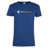 Ladies Royal T Shirt-JWU Alumni