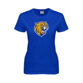 Ladies Royal T Shirt-Wildcat Head