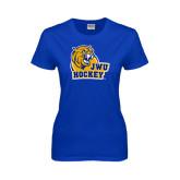 Ladies Royal T Shirt-Hockey