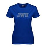 Ladies Royal T Shirt-Rhinestone JWU