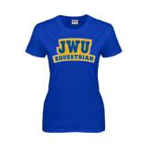 Ladies Royal T Shirt-JWU Equestrian