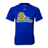 Under Armour Royal Tech Tee-Equestrian