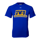Under Armour Royal Tech Tee-JWU Cheerleading
