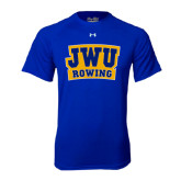 Under Armour Royal Tech Tee-JWU Rowing