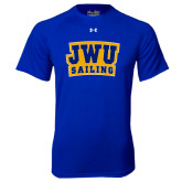 Under Armour Royal Tech Tee-JWU Sailing