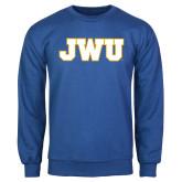 Royal Fleece Crew-JWU