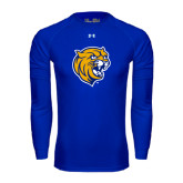 Under Armour Royal Long Sleeve Tech Tee-Wildcat Head