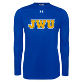 Under Armour Royal Long Sleeve Tech Tee-JWU