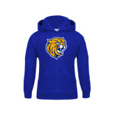Youth Royal Fleece Hoodie-Wildcat Head