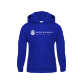Youth Royal Fleece Hoodie-University Mark