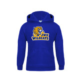 Youth Royal Fleece Hoodie-JWU Wildcats