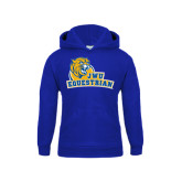 Youth Royal Fleece Hoodie-Equestrian