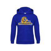 Youth Royal Fleece Hoodie-Cheerleading