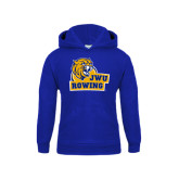 Youth Royal Fleece Hoodie-Rowing