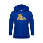 Youth Royal Fleece Hoodie-Lacrosse