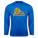 Performance Royal Longsleeve Shirt-Lacrosse