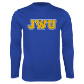 Performance Royal Longsleeve Shirt-JWU
