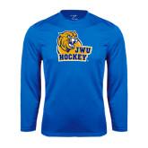 Syntrel Performance Royal Longsleeve Shirt-Hockey