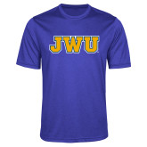 Performance Royal Heather Contender Tee-JWU
