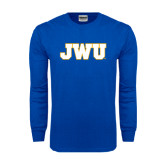 Royal Long Sleeve T Shirt-JWU